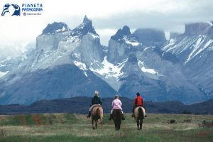 Horse Riding At Torres Del Paine